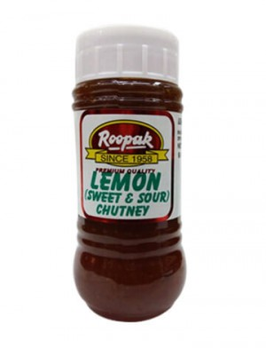Lemon (Sweet & Sour) Chutney